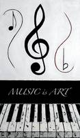MUSIC is ART - Black Notes