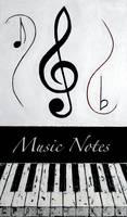 Music Notes - Black Notes