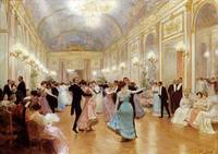 The Ball by Victor Gabriel Gilbert