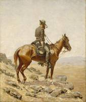 The Lookout, Frederic Remington