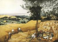 The Harvesters by Pieter Bruegel I