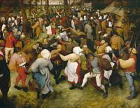 The Wedding Dance by Pieter Bruegel I