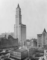 The Woolworth Building, built in 1913