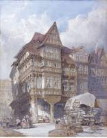 William Callow, R.W.S. , ALBRECHT DÜRER'S HOUSE AT