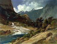 William Keith - Hetch Hetchy Side Canyon, I - circ