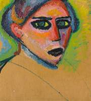 Woman's Face by Alexei Jawlensky