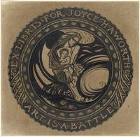 Design for ex libris for Joyce Haworth, Richard Ro