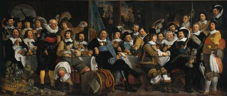 Banquet of the Amsterdam Civic Guard in Celebratio
