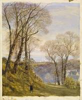 February in the Isle of Wight by John Brett, 1866