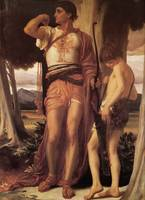 Jonathan's Token to David - Frederic Leighton