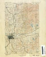 Washington Historical Topographic Maps , spokane 1