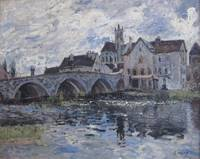 The Bridge of Moret, 1885