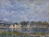 The Bridge at Saint-Mammes, 1881