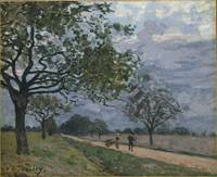 The Road from Versailles to Louveciennes, 1879