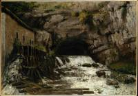 The Source of the Loue , Gustave Courbet