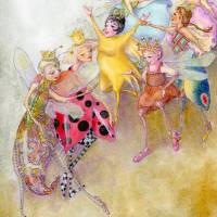 dancers Art Prints & Posters by Laurel Nelson