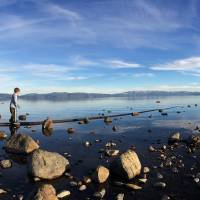 tahoe panoramic Art Prints & Posters by Nikki11