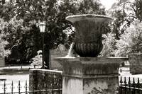 Old Savannah Urn #3_B&W