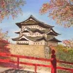 """""""Himeji Castle-SOLD"""" by Yael"""