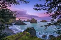 Sunrise at Secret Beach in Oregon by Cody York_231