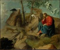 Christ in the Wilderness Moretto da Brescia (Aless