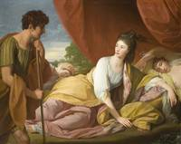 Cymon and Iphigenia by Benjamin West, 1773