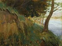 Glimpse of the Hutt River, Western Hutt, by Ernest