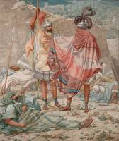 Mercy - David Spareth Saul's Life by Richard Dadd,