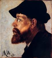 Nils Hansteen by Michael Ancher, 1888.