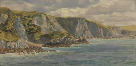 On the Welsh Coast by John Brett, 1882
