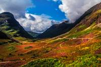 The Valley of Three Sisters. Glencoe