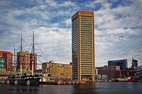 Inner Harbor w World Trade Center & Constellation