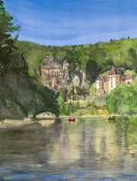 Canoeing the Dordogne