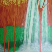 Havasu Falls Art Prints & Posters by Alina Deutsch