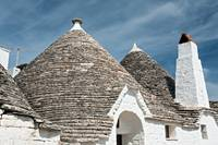 Typical roofs of the Trulli houses