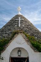 Symbol in the Trullo conical rooftop