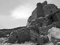Wupatki Ruins 3 Black and White