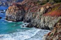 Striking Big Sur Cliffs