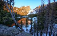 Dawn at Dream Lake