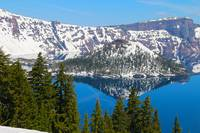 Crater Lake OR Wizard Island