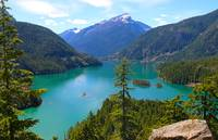 North Cascades WA Lake