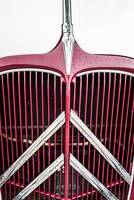 Citroen Traction Red and Cream