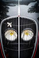 Peugeot 202 headlights and Grille.