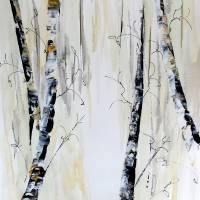 Abstract Forest Art Prints & Posters by Francine Bradette