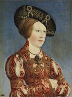 Portrait of Anne of Hungary and Bohemia, Hans Male