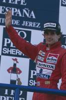 Ayrton Senna. 1989 Spanish Grand Prix