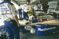 Ayrton Senna. 1994 Pacific Grand Prix