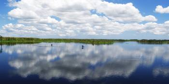 Skyscape Reflections Blue Cypress Marsh Fl C2