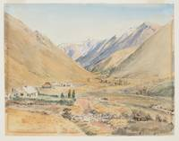 Station Benmore near Porters Pass, 1866, by Nichol
