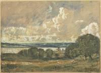 The River Orwell, 1910, by David Muirhead